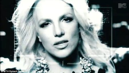 Britney Spears teases the Hold It Against Me video