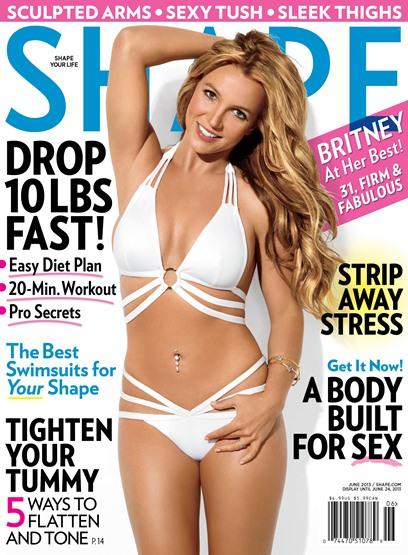 Britney Spears Tells Shape How She Got A Bikini Body After Kids