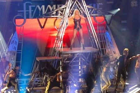 Britney Spears surprises Las Vegas with a Femme Fatale show