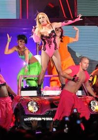 Britney Spears UK ticket sales suffer