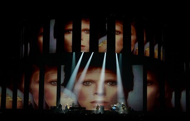 Brits Bowie tribute