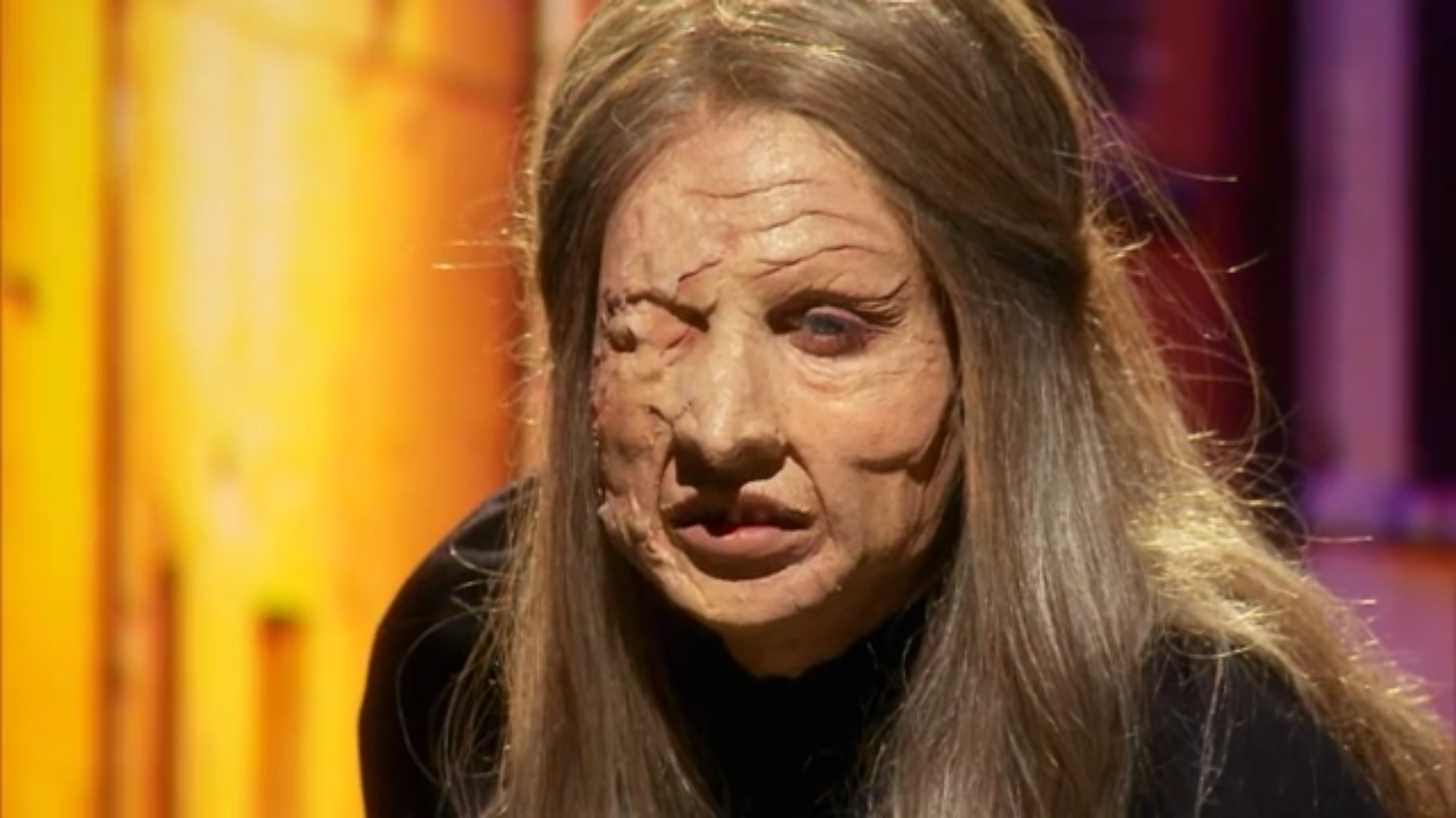 Close look at the makeup that resulted in Brittany Leslie's elimination