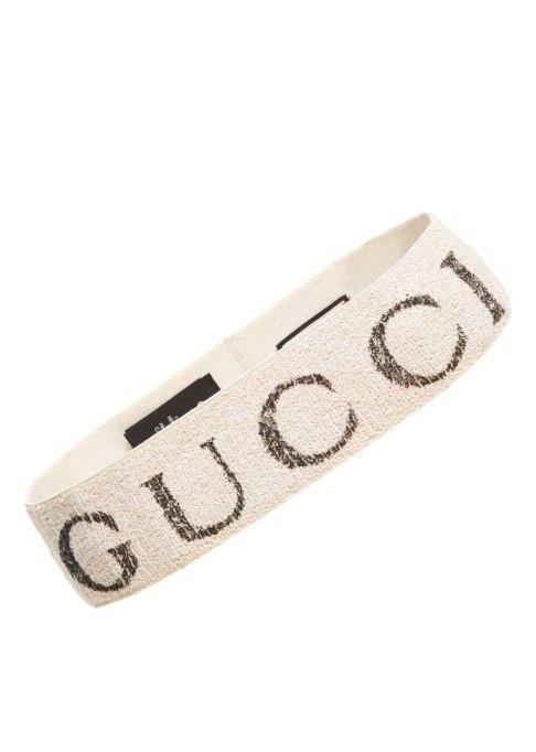 Accessories That Always Look Good on Short Hair | Elastic Gucci Headband