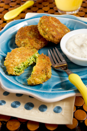 Broccoli cakes
