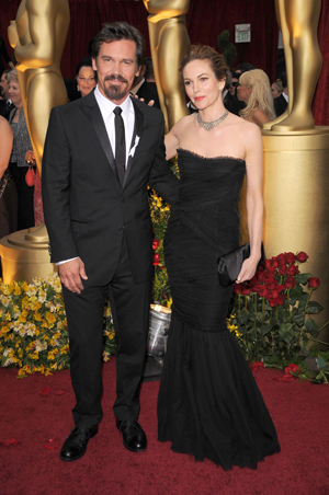 Josh Brolin and wife Diane Lane at the 81st Academy Awards