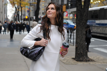 Brooke Shields says goodbye to Lipstick Jungle