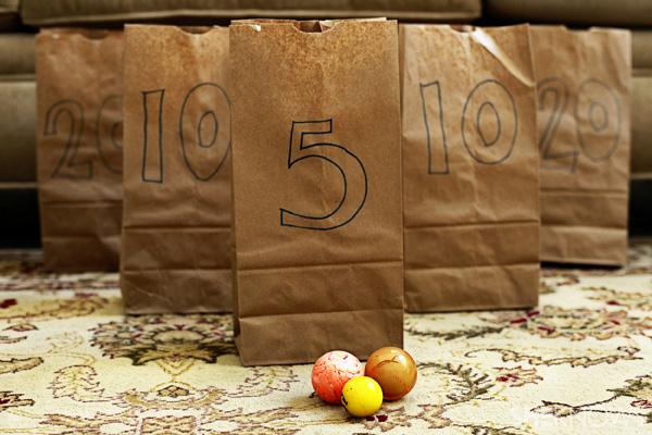 Brown bag toss