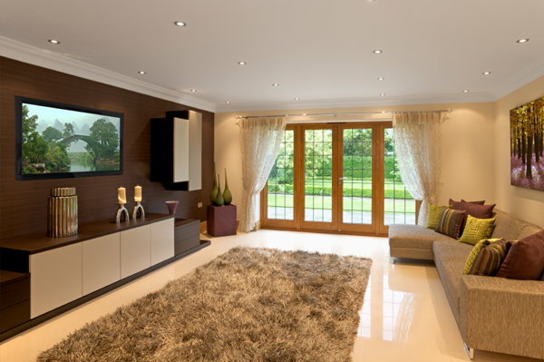 Decorate a brown living room – SheKnows