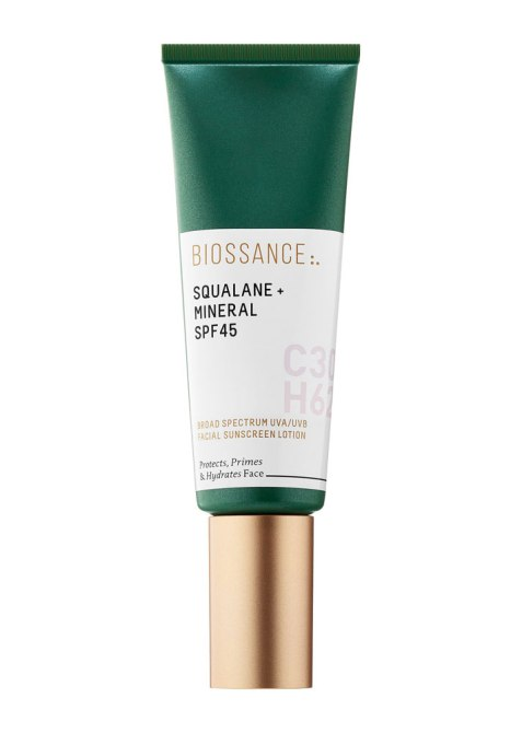 Black-Beauty-Editor-Approved Sunscreens: Biossance Squalane + Mineral SPF 45