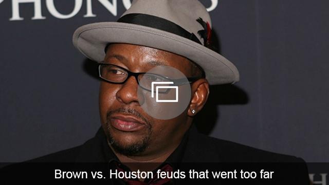 Brown vs Houston feud slideshow