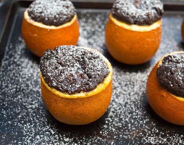 brownie oranges