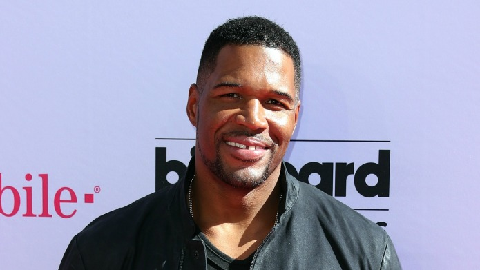 Michael Strahan doesn't miss Live! with