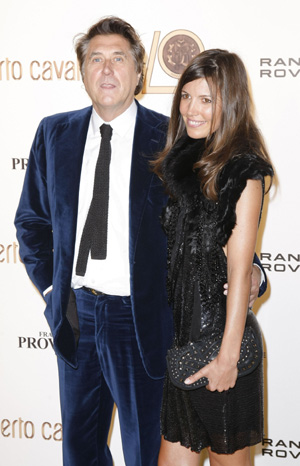 Bryan Ferry and Amanda Sheppard