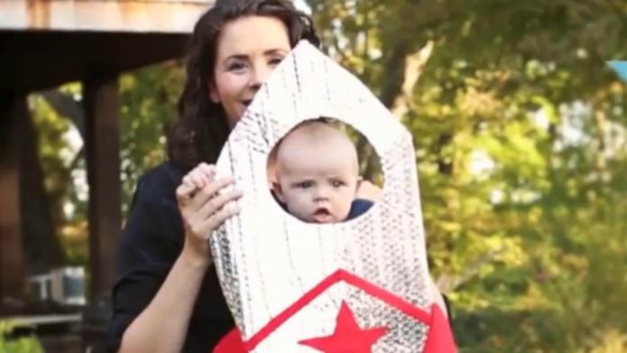 Make an adorable DIY baby Halloween