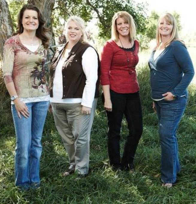Christine Brown, Robin Brown, Meri Brown, Janelle Brown