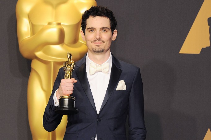 Damien Chazelle at the Oscars