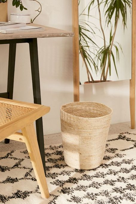 Urban Outfitters Lydia woven trash can