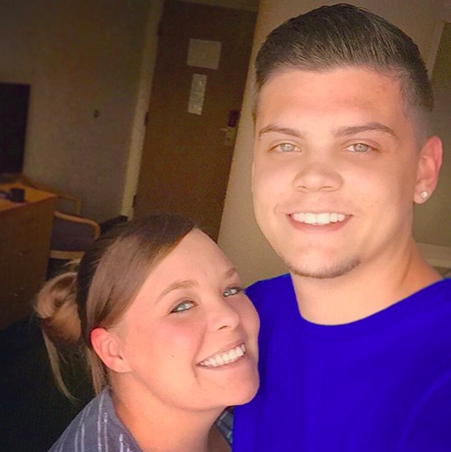 Tyler Baltierra and Catelynn Lowell selfie