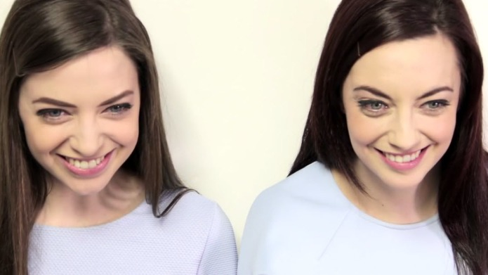 Woman finds her twin stranger proving