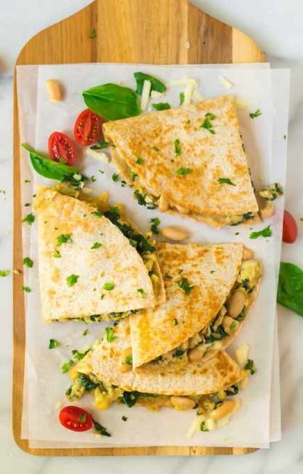 Easy Make-Ahead Breakfast Recipes: Breakfast quesadillas