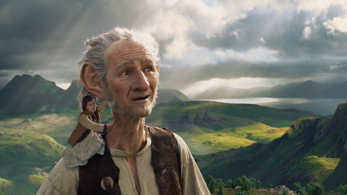 Steven Spielberg's latest movie, The BFG