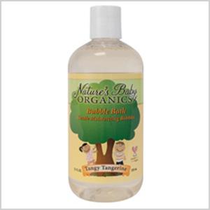 Tangy Tangerine organic bubble bath