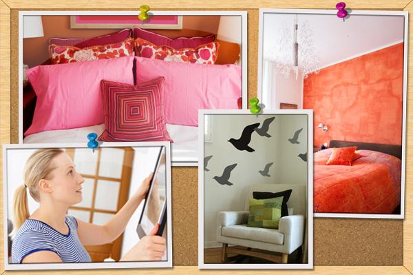 Budget bedroom decor