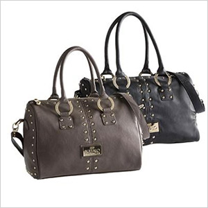 buffalo satchel with studs
