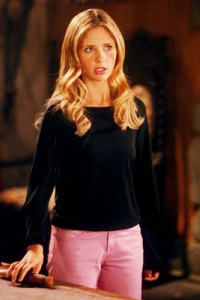Sarah Michelle Gellar is Buffy
