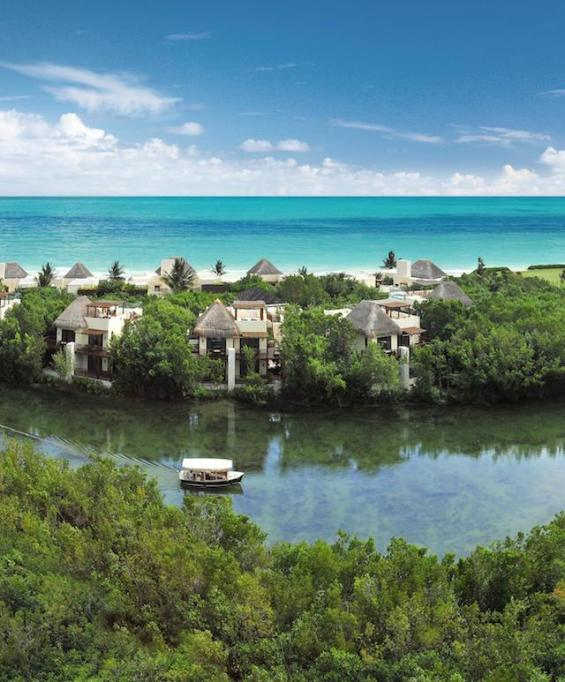 8 Eco-Resorts for Escaping Winter AND Saving the Planet - Fairmont Mayakoba, Mexico