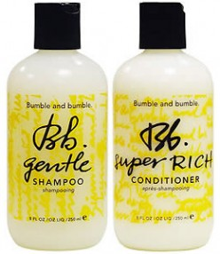 bumble & bumble's Gentle Shampoo and Conditioner