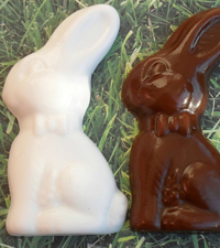 Bunny soap favors