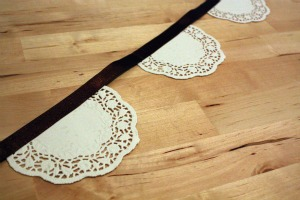 Doilies bunting