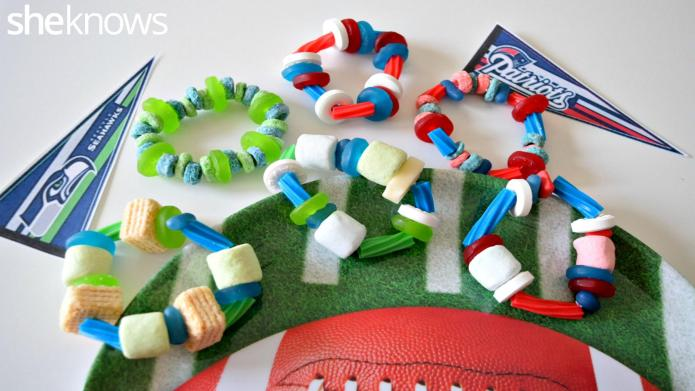 How to make edible candy bracelets
