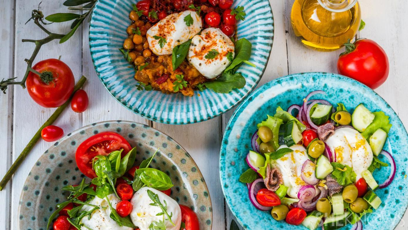 burrata salads