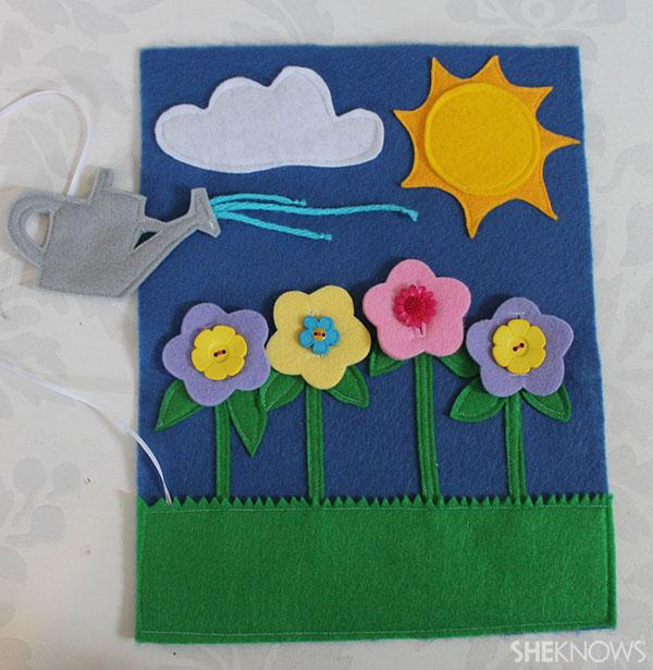 Flower garden page