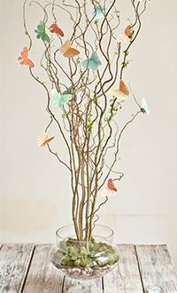 butterfly Easter centerpiece