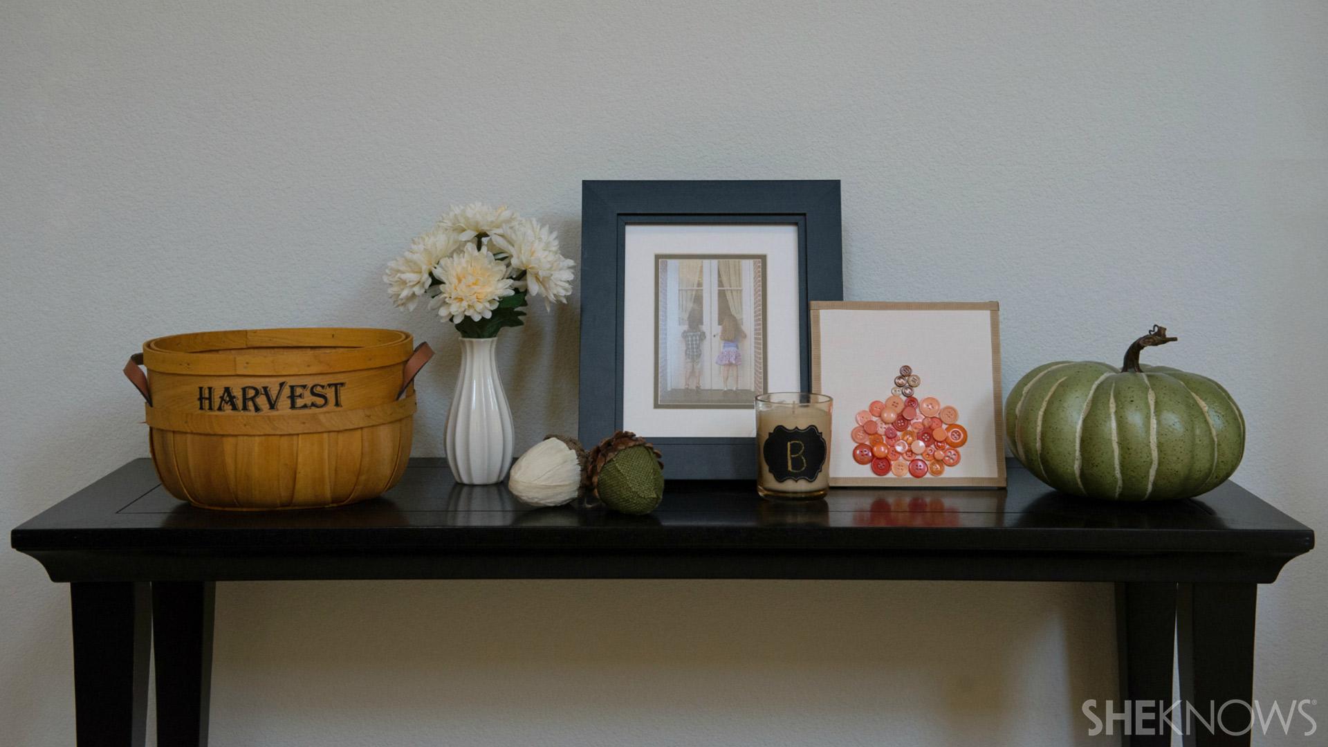 Button pumpkin | Sheknows.com - Final display