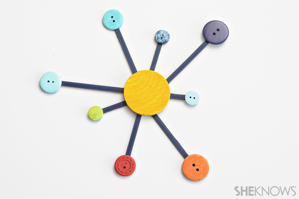 Button solar system craft