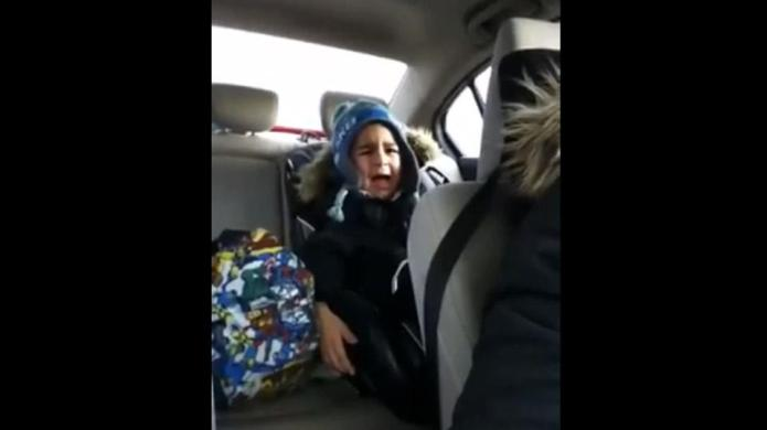 4-Year-old agonizes over first heartbreak, and