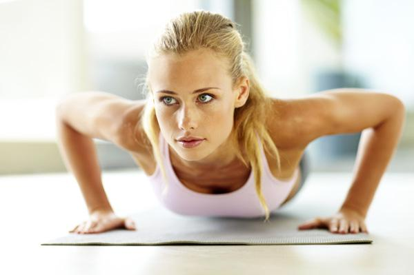 How to get in shape: push-ups