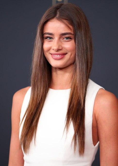 Taylor Hill Long Straight Hair