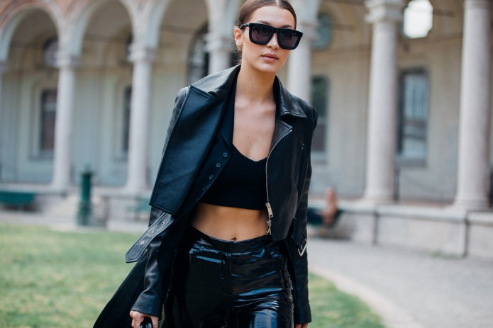 Top model Bella Hadid wears all