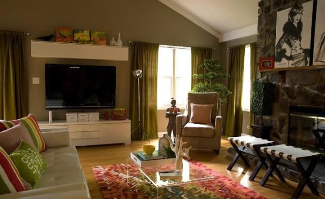 War of decor: Family room edition