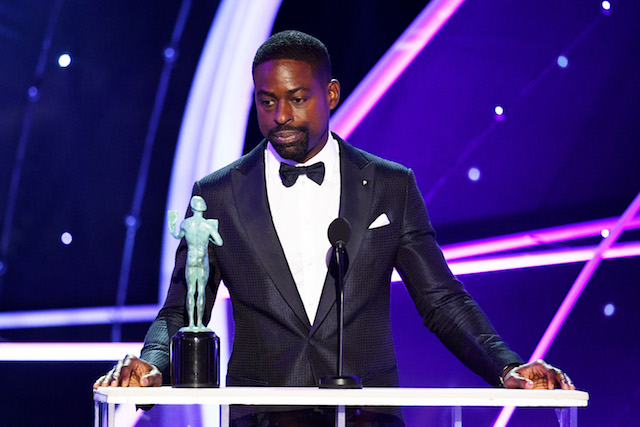 Best Winners' Speeches from the SAG Awards 2018: Sterling K. Brown