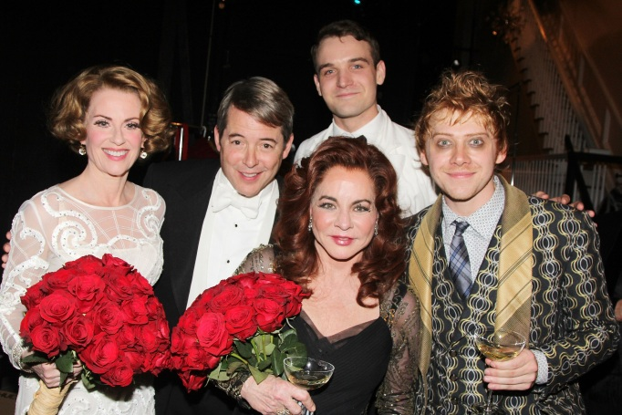 The cast of 'It's Only a Play'