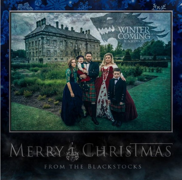 Kelly Clarkson's 'Game of Thrones'-themed Christmas card