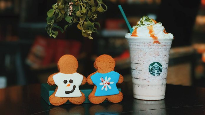 Starbucks' new Fruitcake Frappuccino is kind