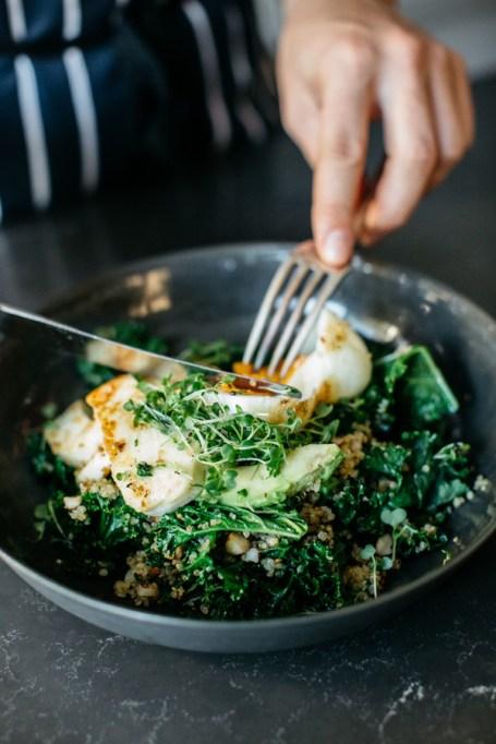 Easy Winter Breakfast Ideas | Warm Green Breakfast Bowl