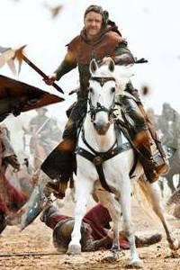 Russell Crowe's Robin Hood trailer premieres